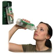 Eye Wash Bottle & Wall Bracket