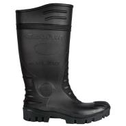 Typhoon Safety Wellingtons Black