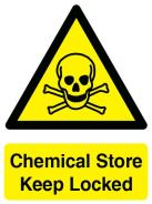 Chemical Store Sign