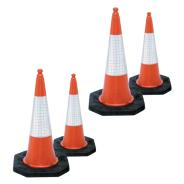 Two Part Traffic Cones