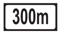 Distance 300m Add-on Plate