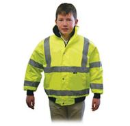 Hi-Vis Junior Bomber Jacket