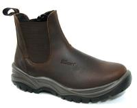 Dealer Safety Boots Brown