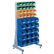 Single Sided Bin Rack Set