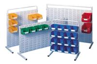 Interbin Louvred Panel Bench Units