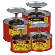 Justrite Plunger Dispensing Cans