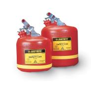 Justrite Polyethylene Safety Cans