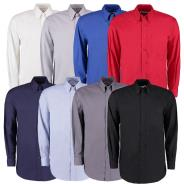 Kustom Kit Mens Oxford Long Sleeved Shirts