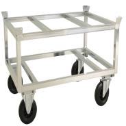 Kongamek Raised Pallet Truck with Pallet Holder