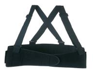 Elastic Back Support with Suspenders