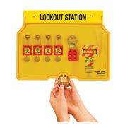 4 Lock Lockout Stations