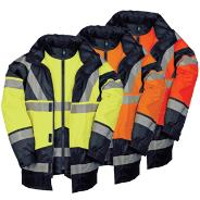 Hi-Vis Jacket/Detachable Bodywarmer