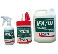 IPA/DI Fluid, Wipes and Spray