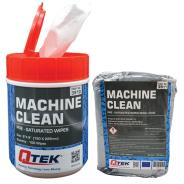QTEK Machine Clean Wipes