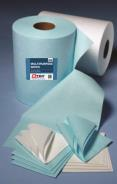 Multipurpose Wipe Roll Blue