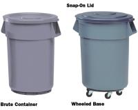 Round BRUTE Containers