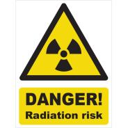 Danger! Radiation Risk Signs