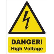Danger! High Voltage Signs