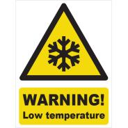 Warning! Low Temperature Signs