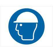 Wear Head Protection Symbol Signs