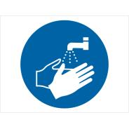 Wash Your Hands Symbol Signs