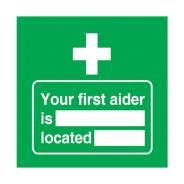 First Aid Signs SD712