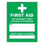 First Aid Signs SD 713