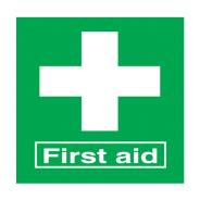 First Aid Signs SD 714