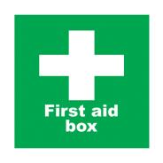 First Aid Box Sign SD 715