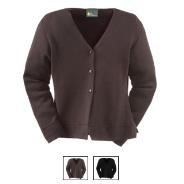 Knitted Cardigan Mid-Length